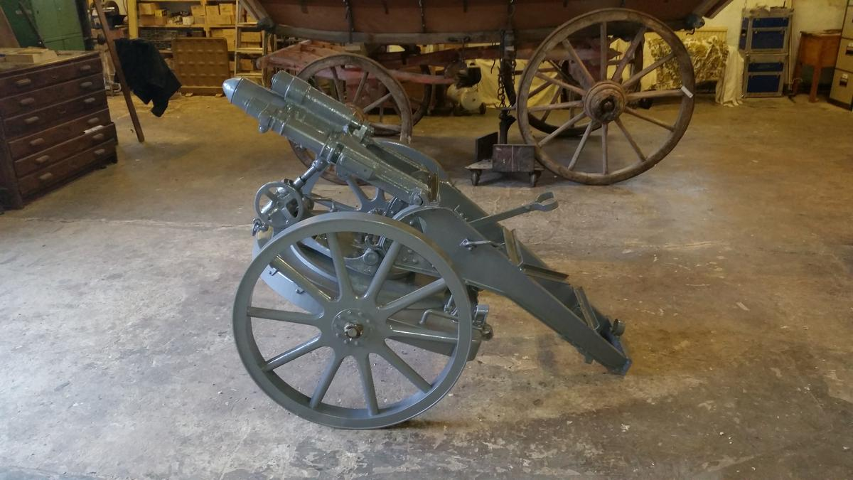 Cannons and Cannon Wheels | Mike Rowland & Son Wheelwrights